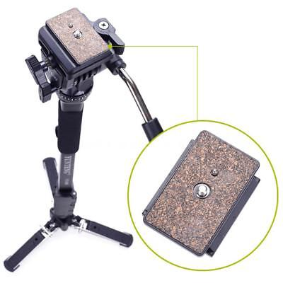 YUNTENG Video Camera Tripod Monopod Stand + Fluid Pan Ball Head + Unipod Holder