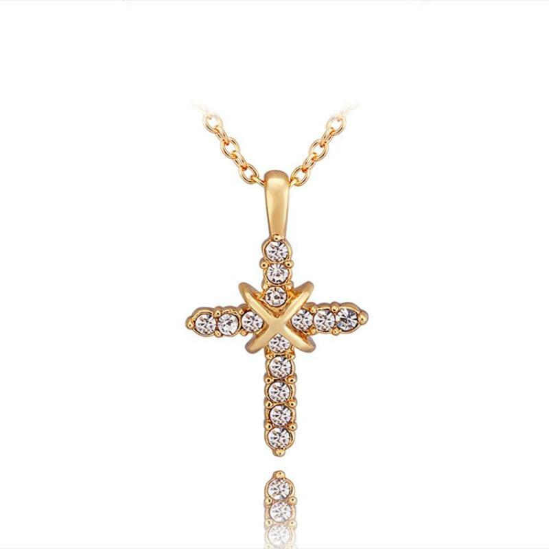 First Communion Pearl Cross Necklace