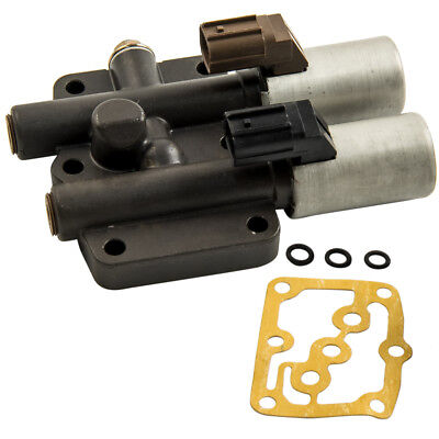 Automatic Transmission Dual Linear Shift Solenoid with gasket For Honda Acura ()