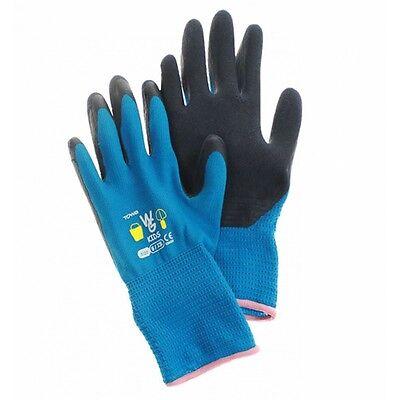Kinderhandschuh Garten-Handschuh Towa 7-11 Jahre aquablau Kinderhandschuhe