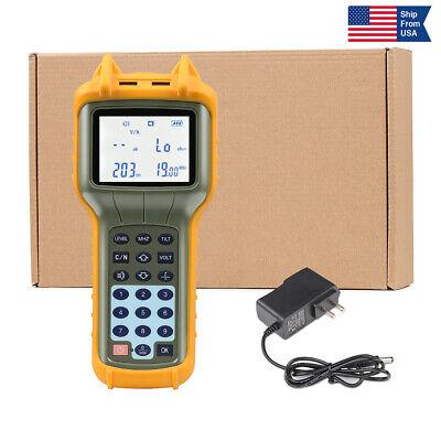 Usa Ship Ry S110 Catv Cable Tv Handle Digital Signal Level Meter Db Tester Tool