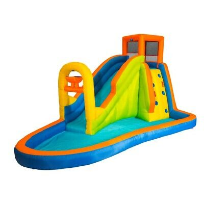 Banzai Plummet Falls Adventure Inflatable Backyard Kids Wate