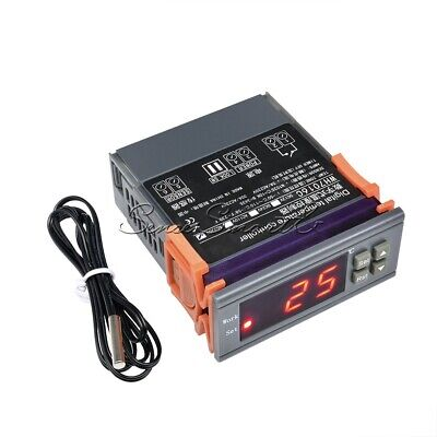 Digital Temperature Controller Thermostat Wh7016c Ac 220v Lcd Ships Free From Us