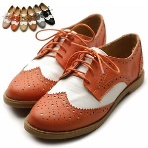 Two Tone Ladies Dress Shoes