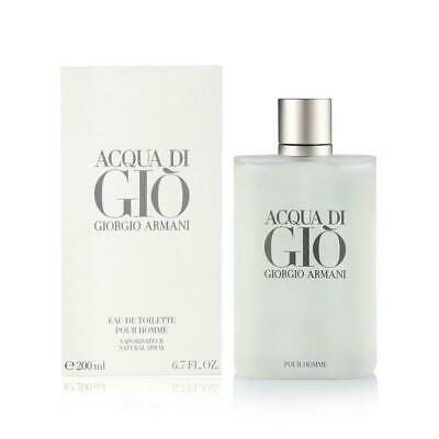 Giorgio Armani Acqua Di Gio 6.7 Oz Cologne Spray Men Edt Brand New Sealed In Box