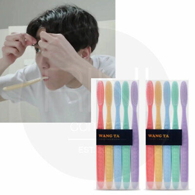 BTS JUNGKOOK Toothbrush 10P By Wangta  + Tracking Code