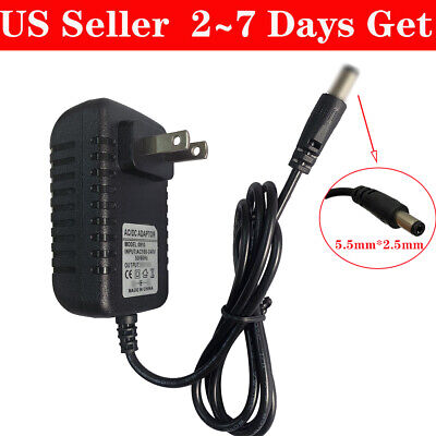 DC 14V 1A 1000mA AC 100V-240V Converter Adapter Power Supply US 5.5mm x 2.5mm 100 Ma Power Supply