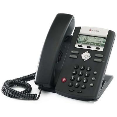 New Polycom Soundpoint Ip 321 Poe 2200-12360-025 Business Phone Free Ship - We1
