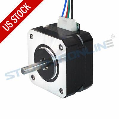 Nema 17 Stepper Motor 1.8deg 13ncm18.4oz.in 0.7a 42x25mm 4 Wires 3d Printer