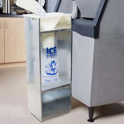Commercial Ice Bagger 8 10 20 Lb Cooler Bag Stainless Steel Bin Bagging Machine