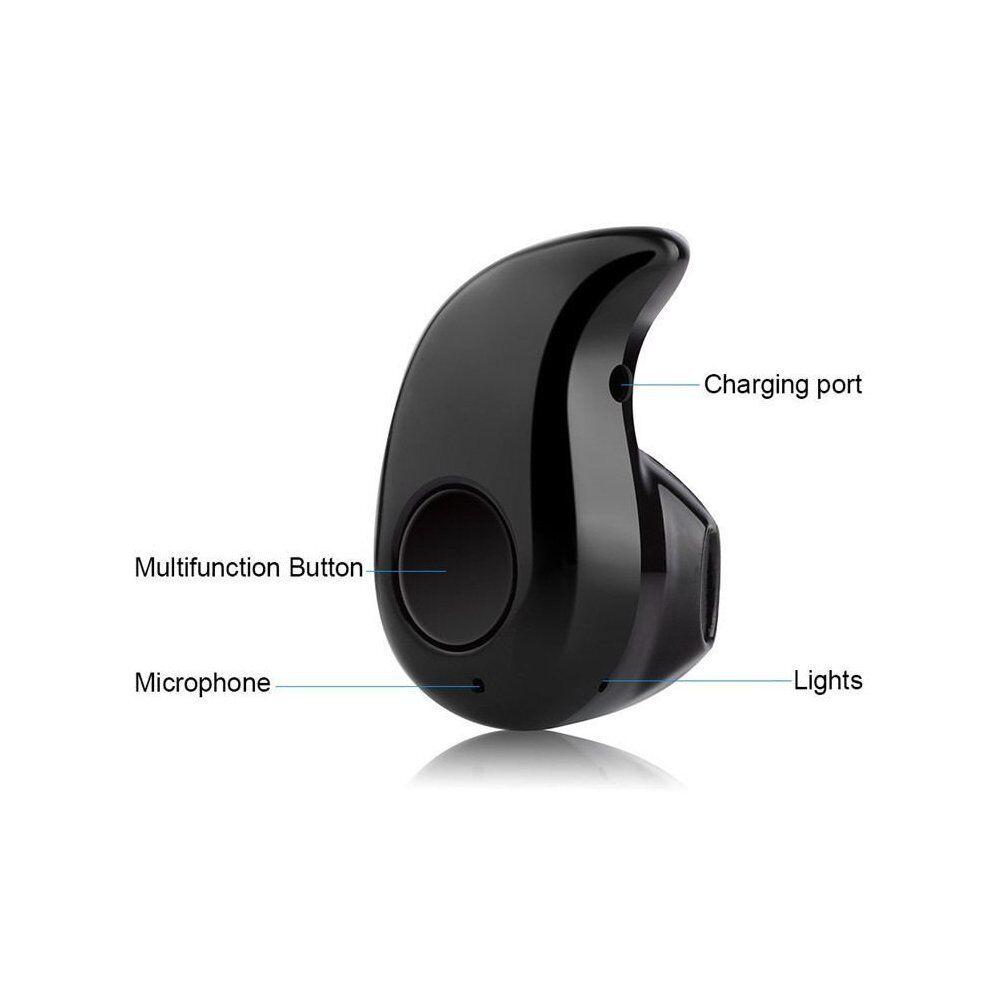Mini Wireless Bluetooth  In-Ear Earbud Headset Earphone for iPhone Samsung LG