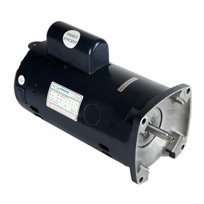 - 2 HP Single Speed Square Flange Motor