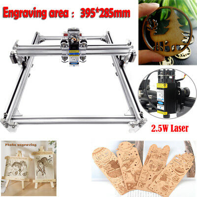 Mini Diy Cnc 3040 Router Kit 2.5w Laser Wood Carving Engraving Milling Machine