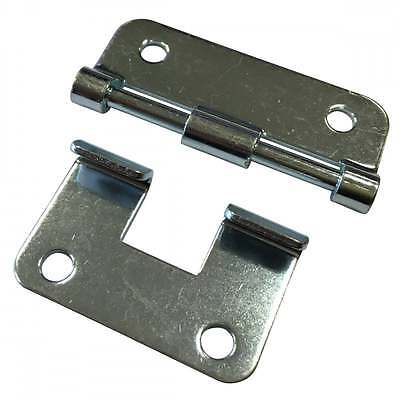 UKDJ Nickle Heavy Duty Metal Lift-Off Hinge For Removable Chest Flight Case Lids