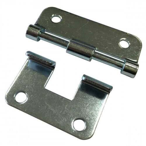 UKDJ Nickle Heavy Duty Metal Lift-Off Hinge For Removable ...