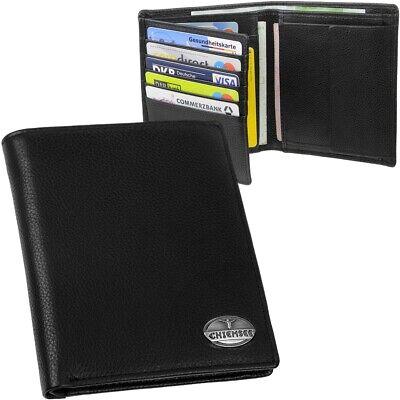 CHIEMSEE Herren Brieftasche groß, Leder weich, Geldbörse Geldbeutel Portemonnaie