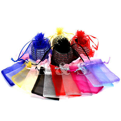 edding Party Jewellery Gift Favour Bag Pouch Box Large Small (Small Favor Boxen)