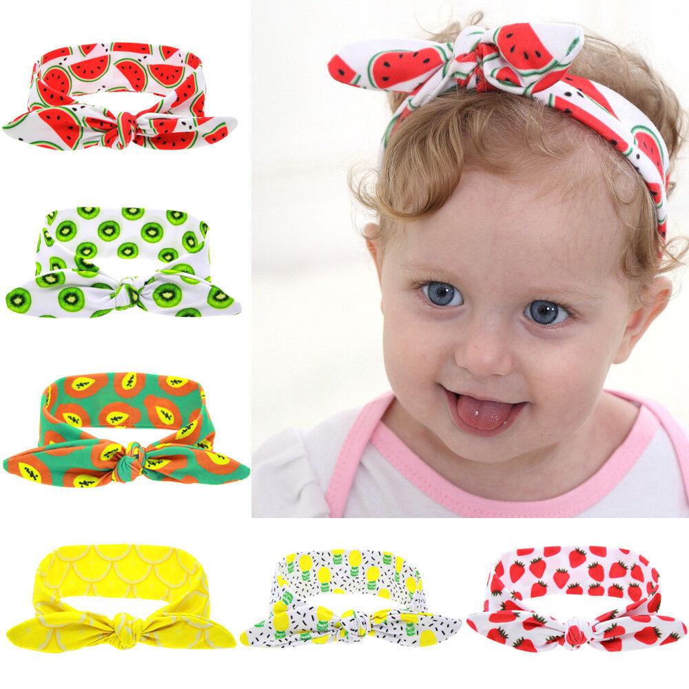 6PCS//LOT Kids Headwear Hairwear Baby Girl Headband Accessories Hair Hibbon Knot