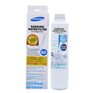 samsung da2900020b hafcinexp fresh water filter cartridge brand new sealed - Da2900020b