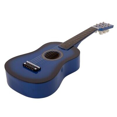 """23"""" Beginners Practice Acoustic Wood Toy Guitar with Pick 6 String Children Kids"""
