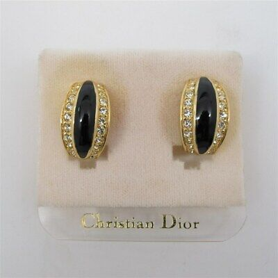 Christian Dior Clip-On Earrings NEW