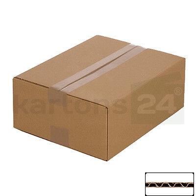 100 Versandkartons 320 x 250 x 120 mm Faltkartons Päckchen Schachtel Paket Post