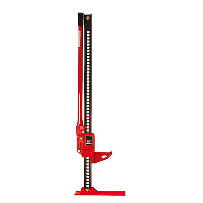 "Wolf Off Road 3 Ton Heavy Duty 48"" High Lifting Ratchet Farmers Farm Jack Winch"