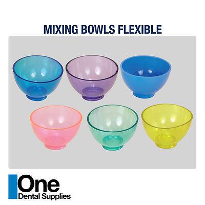 Dental Impression Mixing Bowls 5 Pcs
