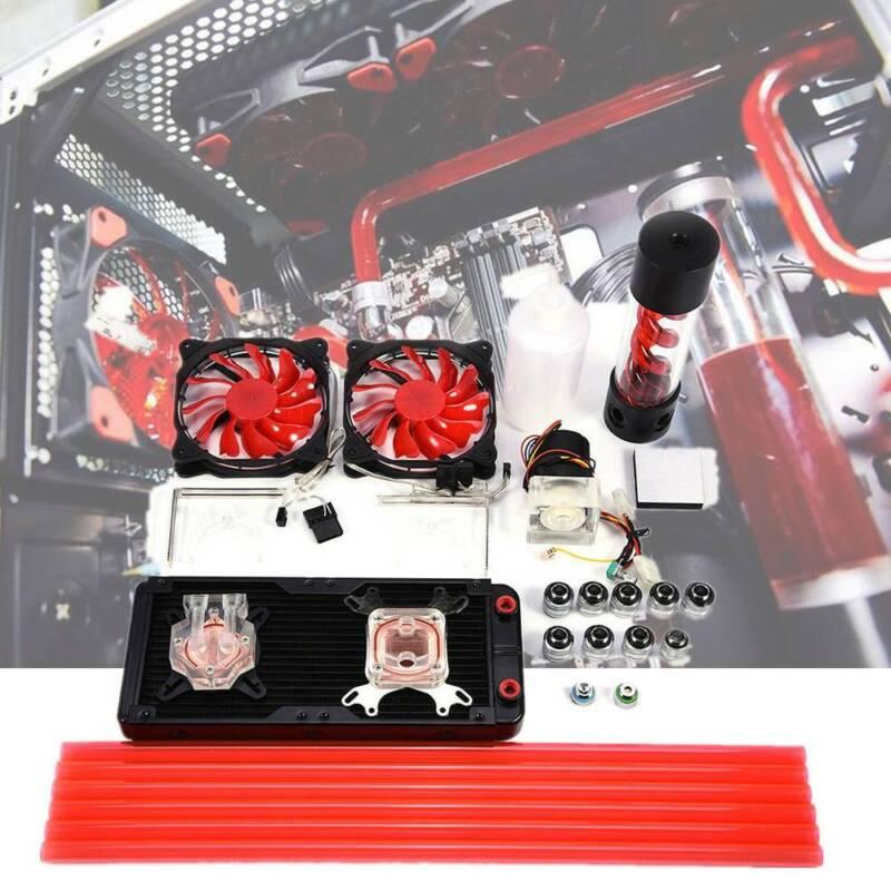 pc liquid water cooling kit 240mm radiator