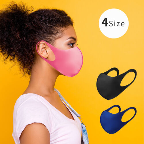 Washable Fabric Mask For Family made in Korea/ US Shipping/ 7 Color / 4 Size