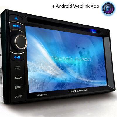 AUTORADIO GPS DAB+ NAVIGATION mit BLUETOOTH TOUCHSCREEN USB MP3 Doppel 2DIN