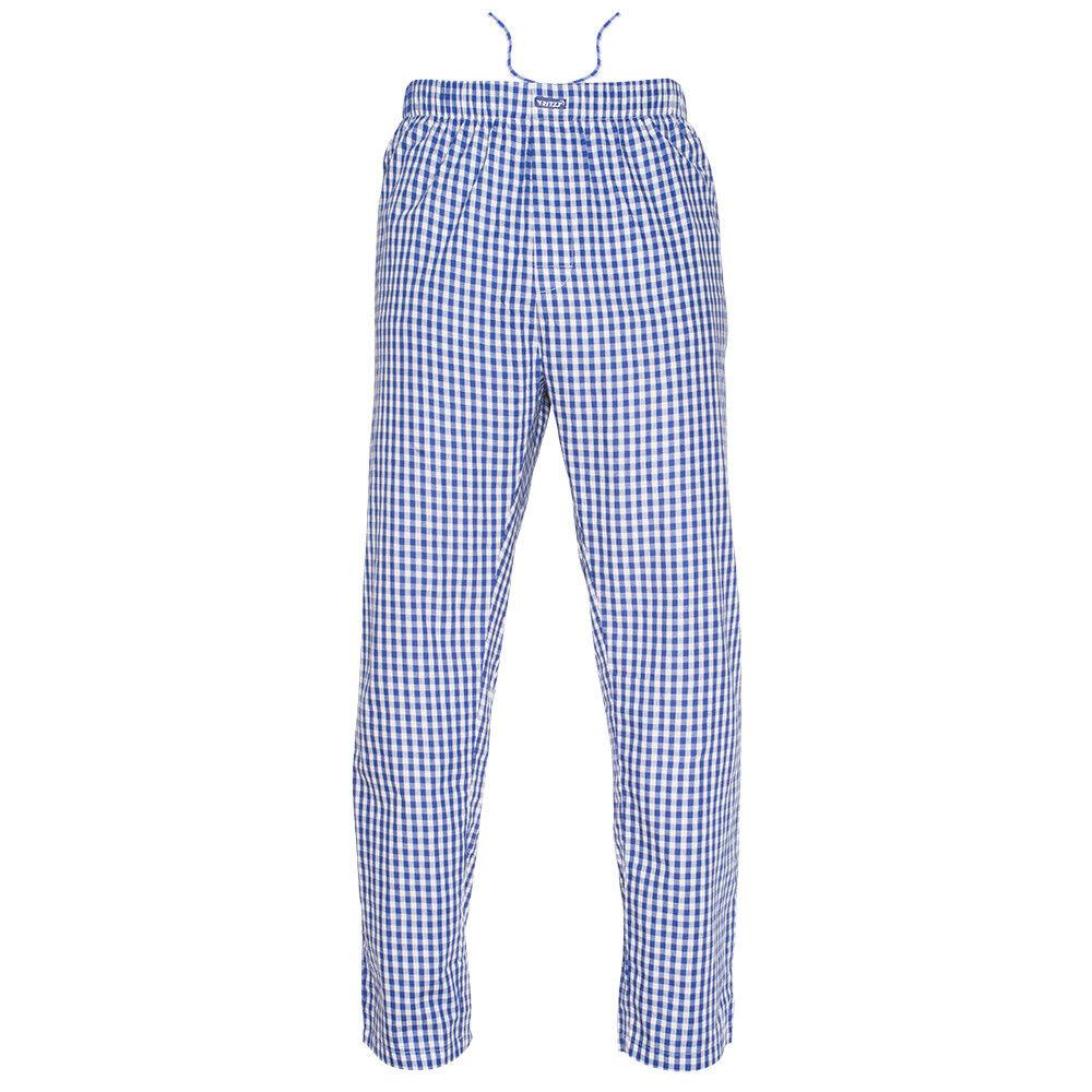 Ritzy Kids/Boys/Men Pajama Pants 100% Cotton Plaid Woven Poplin – 3 Pack Boys