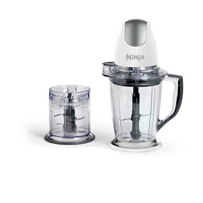 Ninja QB900BWH Overall Prep Quad-Blade 400W Blender Mixer & Food Processor, White
