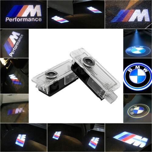 Car Parts - For BMW CREE LED Car Door Light Projector Shadow Puddle Courtesy Laser LOGO Lamp