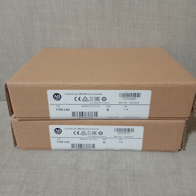 New Sealed Ab 1756-l63 B Controllogix Logix5563 Processor 2mb Memory 1756l63