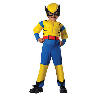 Toddler Little Wolverine Halloween Costume Size 2T-4T (2 Toddler Halloween Costumes)