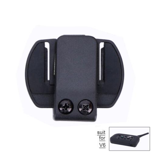 Clip Mount Holder for V6 V4 Motorcycle Helmet Interphone Intercom Headset