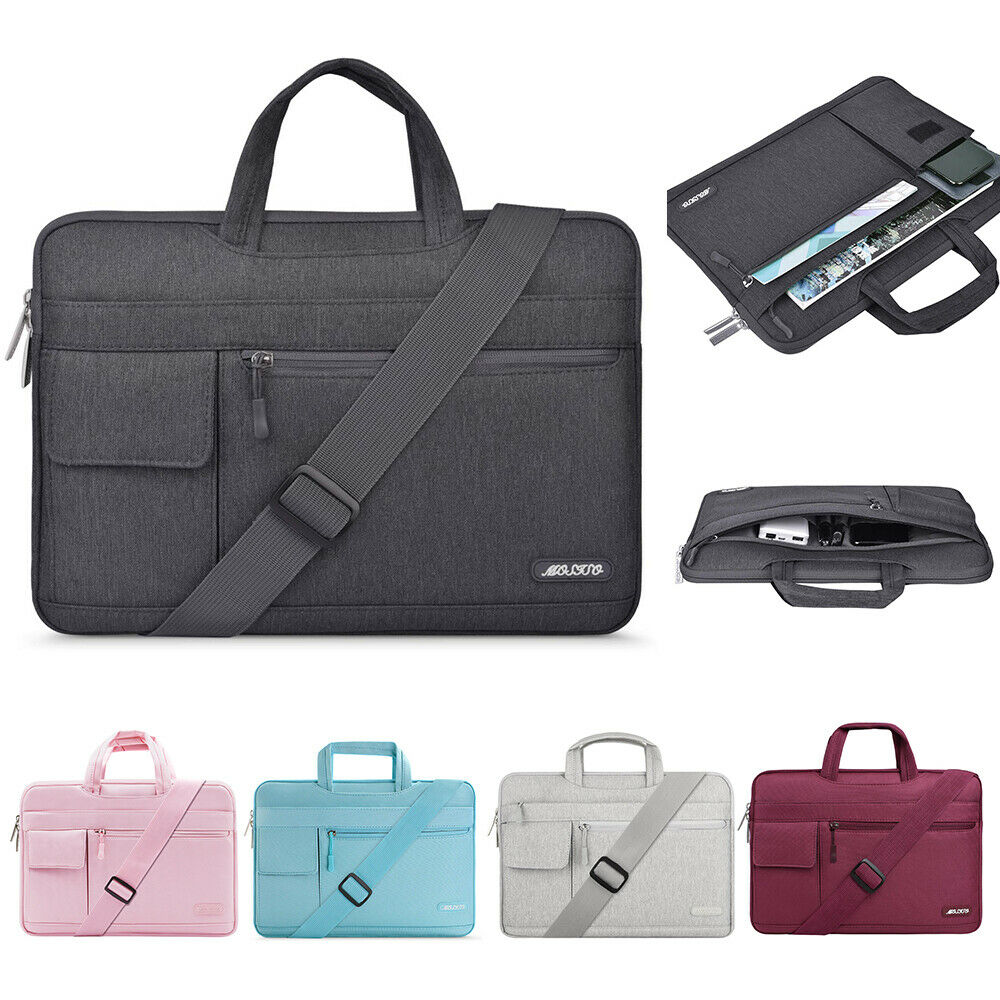 Laptop Shoulder Business Bag 13.3 15.6 17 inch for Macbook D