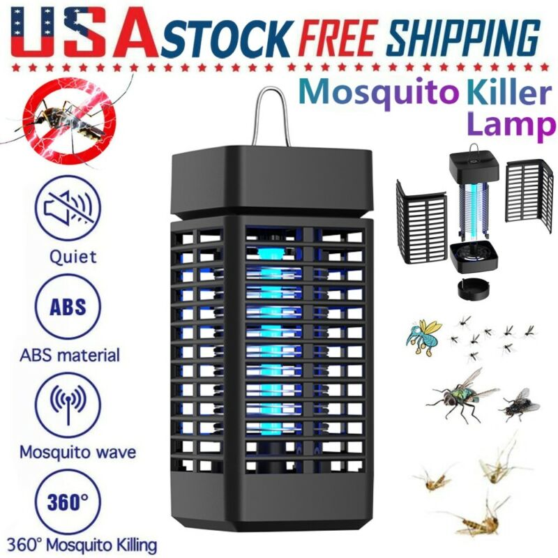 NEW Electric Mosquito Insect Killer Zapper Light Fly Bug Trap Pest Control Lamp