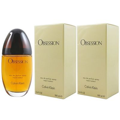 Calvin Klein Obsession 2 x 100 ml Eau de Parfum EDP Set ()