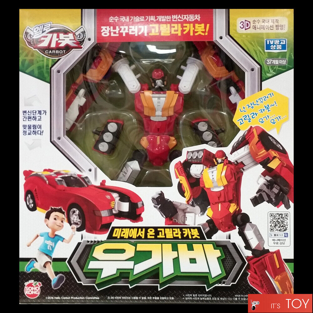 Hello Carbot Gryphinx Prime Unity series Transformer Robot Action Figures