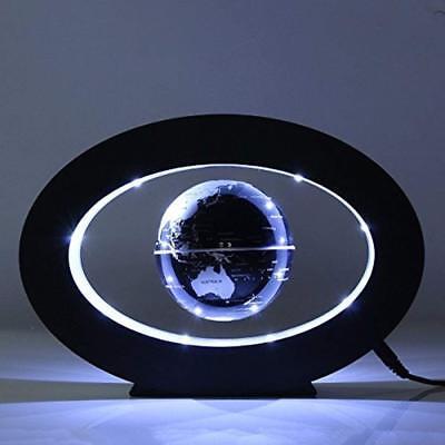 Decorative World Globe (Magnetic Levitation Floating Globe World Map LED Light Home Decor C)