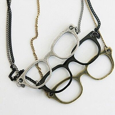 Eyeglasses Frame Eyewear Long Costume Pendant Glasses Necklace Sweater Chain](Costume Eyewear)