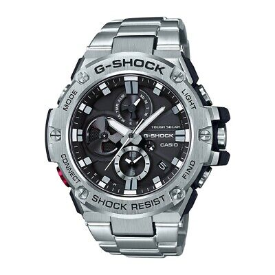 -NEW- Casio G-Shock G-Steel Bluetooth Solar Powered Watch (Solar Powered G-shock Watch)