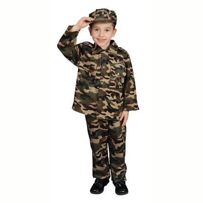 Army Dress For Kids (Deluxe Army Soldier Costume Set For Kid By Dress Up)