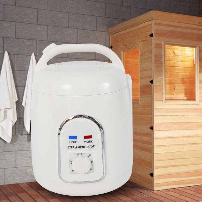 1.8L Sauna Steam Pot Generator Machine Portable Bath Heater Spa Health ABS USA