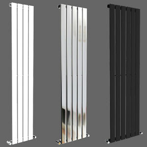 Flat Panel Vertical Column Designer Bathroom Radiators