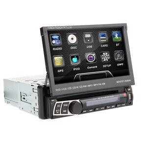"""GPS 7"""" HD 1 DIN In Dash Car CD DVD Player Touch Screen Radio Stereo Bluetooth - Polonia, Polska - Zwroty są przyjmowane - Polonia, Polska"""