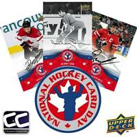 2013 UD National Hockey Card Day Box (100 Packs)