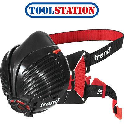 Trend Air Stealth Half Mask Respirator Med/Large